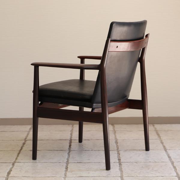 Arne Vodder  アームチェア.model 431 Brazilian rosewood  Sibast (10).jpg