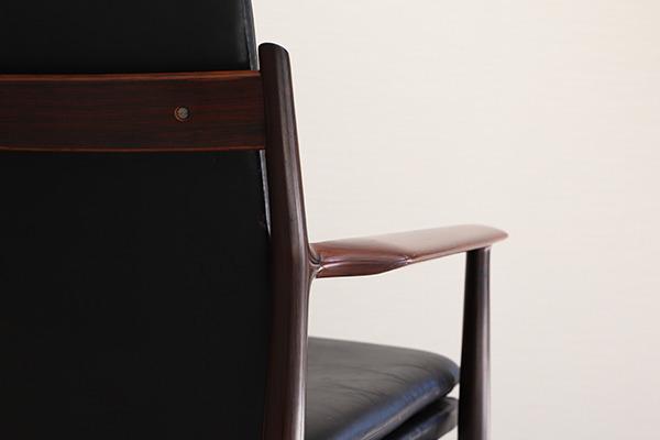 Arne Vodder  アームチェア.model 431 Brazilian rosewood  Sibast (2).jpg