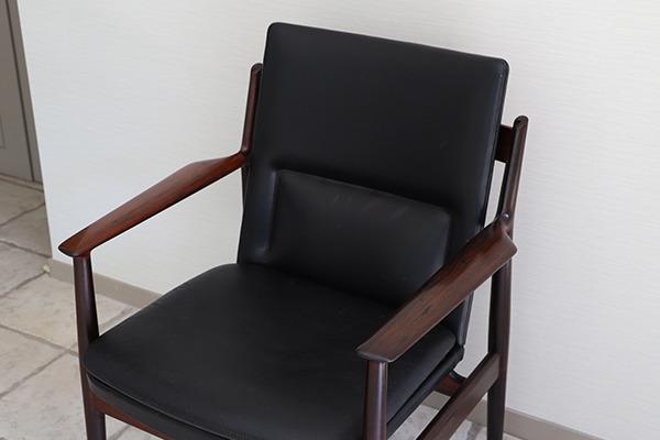 Arne Vodder  アームチェア.model 431 Brazilian rosewood  Sibast (4).jpg