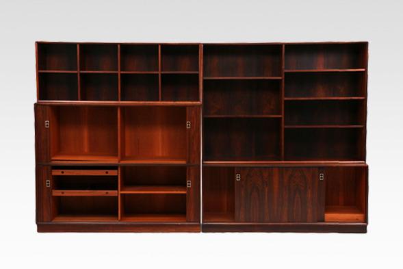 Arne Vodder  Wall unit rosewood  Sibast (1).jpg