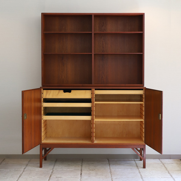 Borge Mogensen  Chestt and Book case  C.M. Madsen (4).jpg