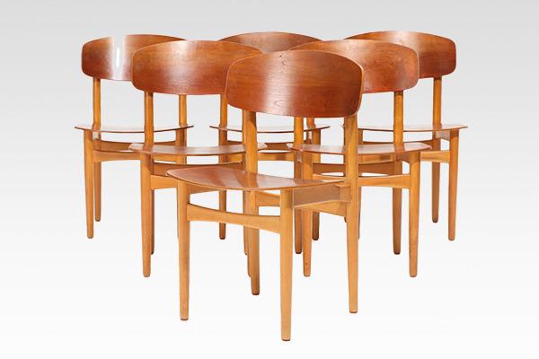 Borge Mogensen  Dining Chair.model 122  Soborg Mobler (1).jpg