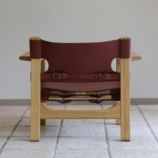 Borge Mogensen  Spanish Chair - Deep Red (8).jpg