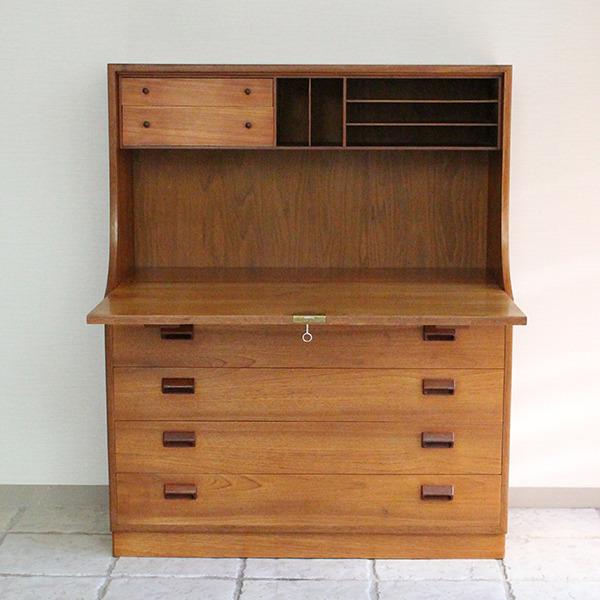 Borge Mogensen  Writing desk .teak  Soborg Mobler (8).jpg