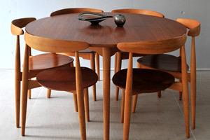 ウェグナー ハートテーブル&ハートチェアー01.jpg