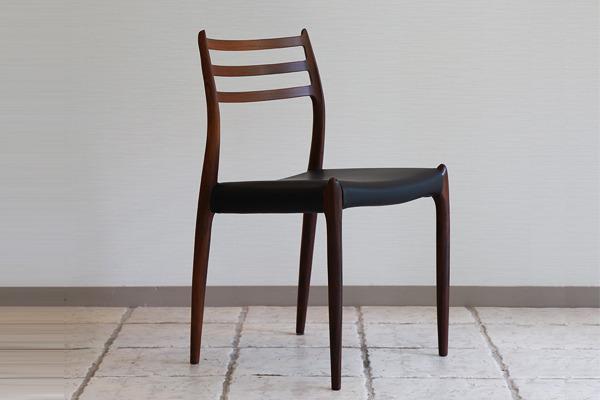 ニールス・モラー 椅子 ローズウッドー01.jpg