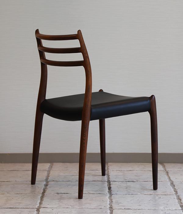 ニールス・モラー 椅子 ローズウッドー02.jpg