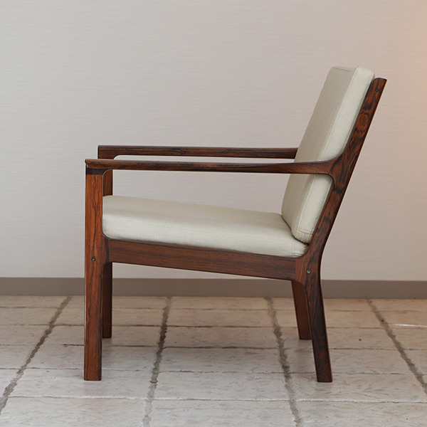 Fredrik Kayser  Easy chair .Model 935 .Rosewood  Vatne Mobler_1 (3).jpg
