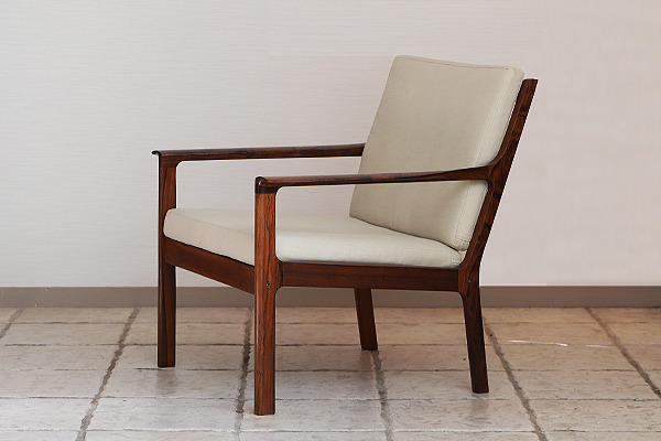 Fredrik Kayser  Easy chair .Model 935 .Rosewood  Vatne Mobler_1 (5).jpg