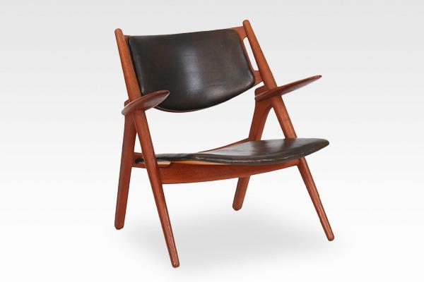 Hans. J. Wegner  Easy chair.CH-28 teak  Carl Hansen & Son (14).jpg
