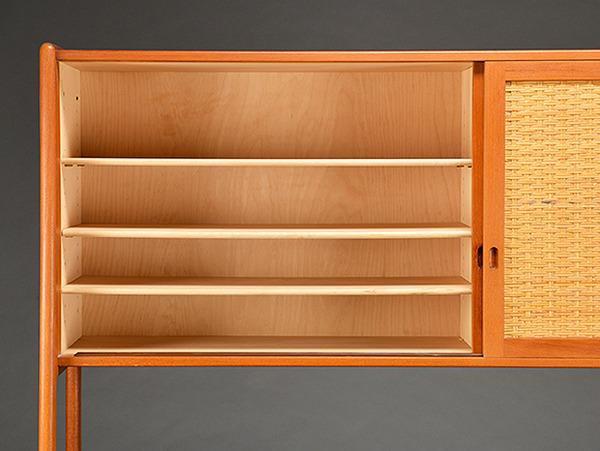Hans J. Wegner. Teak and cane sideboard, model Ry20-01.jpg