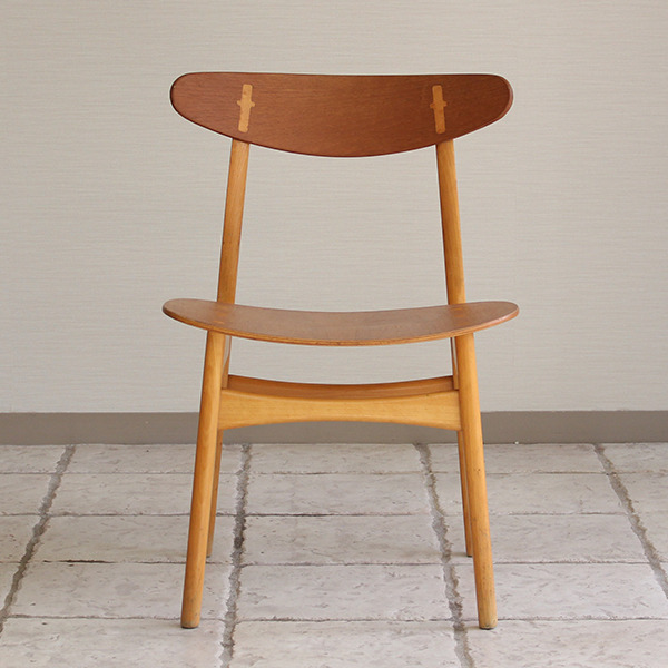 Hans J. Wegner  Dining chair. CH-30 Teak & Oak  Carl Hansen & Son(板座) (1).jpg