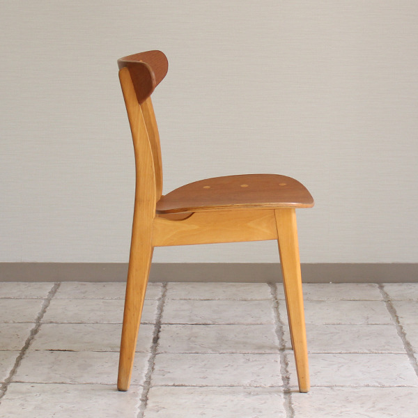 Hans J. Wegner  Dining chair. CH-30 Teak & Oak  Carl Hansen & Son(板座) (3).jpg