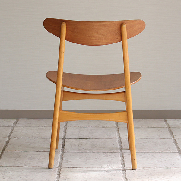 Hans J. Wegner  Dining chair. CH-30 Teak & Oak  Carl Hansen & Son(板座) (5).jpg