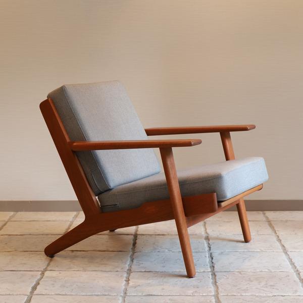 Hans J. Wegner  Easy chair. GE290 .teak  GETAMA-02 (7).jpg