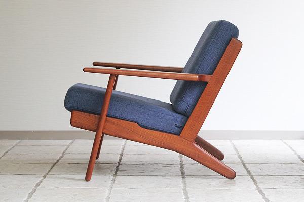 Hans J. Wegner  Easy chairs. GE290 Teak  GETAMA-1 (10).jpg