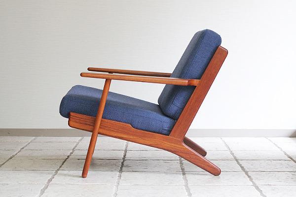 Hans J. Wegner  Easy chairs. GE290 Teak  GETAMA-2 (4).jpg
