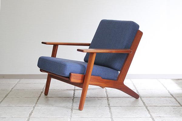 Hans J. Wegner  Easy chairs. GE290 Teak  GETAMA-2 (6).jpg
