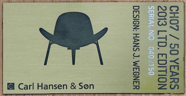 Hans J. Wegner  Lounge chair .CH-07 Anniversary edition  Carl Hansen & Son (5).jpg