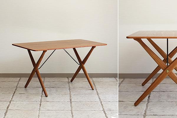 Hans J. Wegner  X-leg Coffee table. AT308  Andreas Tuck (11).jpg