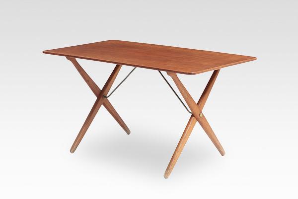 Hans J. Wegner  X-leg Coffee table. AT308  Andreas Tuck (4).jpg