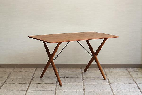 Hans J. Wegner  X-leg Coffee table. AT308  Andreas Tuck (8).jpg