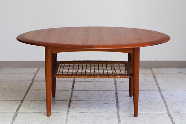 Johannes Andersen  Circular coffee table  C.F.C. Silkeborg (9).jpg