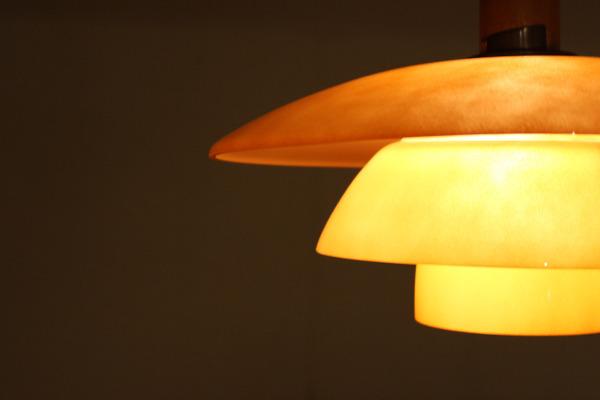 Poul Henningsen  Pendant Lamp PH 44 with pink matt glass  Louis Poulsen (2).jpg