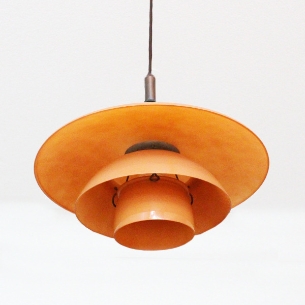 Poul Henningsen  Pendant Lamp PH 44 with pink matt glass  Louis Poulsen (4).jpg