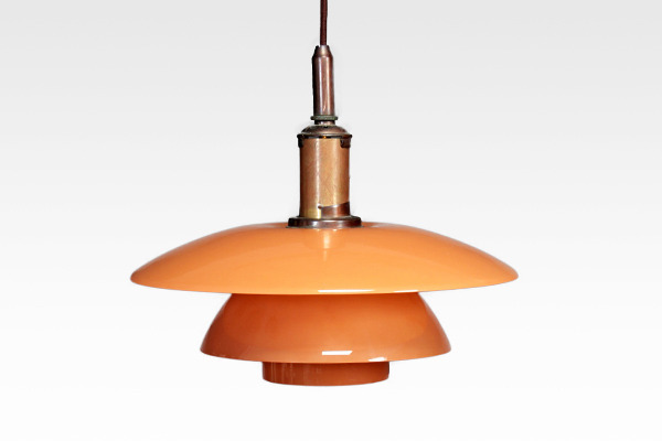 Poul Henningsen  Pendant with pink matt glass  Louis Poulsen (3).jpg