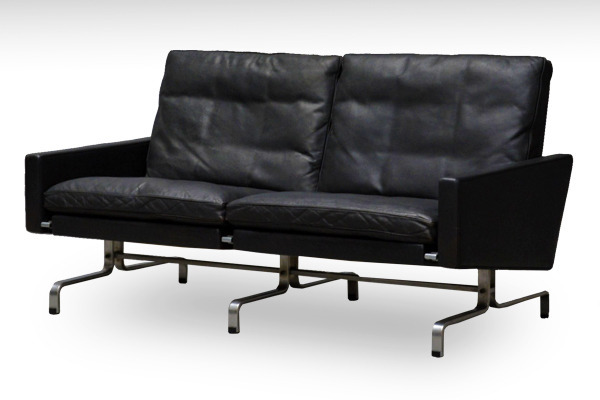 Poul Kjaerholm   Two seater sofa. PK-31  E. Kold Christensen-01.jpg