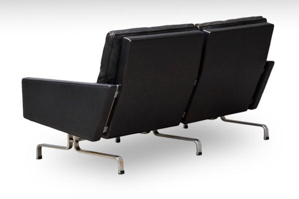 Poul Kjaerholm   Two seater sofa. PK-31  E. Kold Christensen-03.jpg