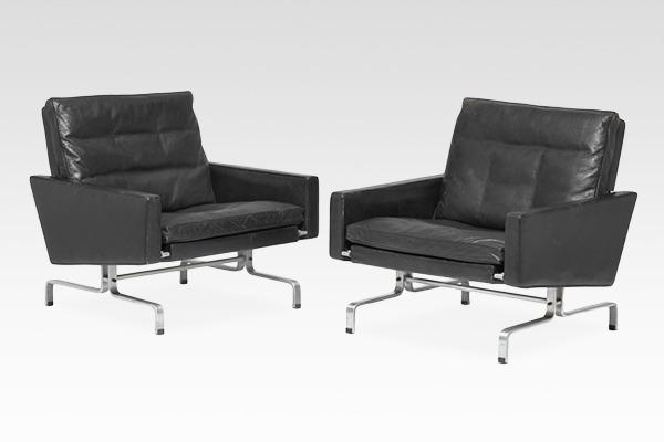 Poul Kjaerholm  Lounge chair. PK-31  E. Kold Christensen.jpg
