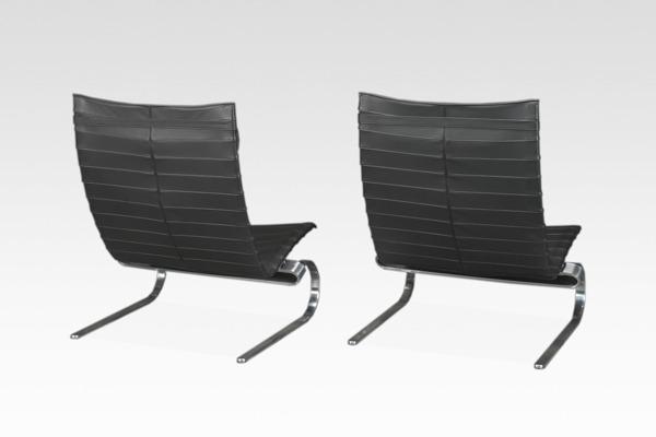 Poul Kjaerholm  Lounge chair. PK20  Fritz Hansen (1).jpg