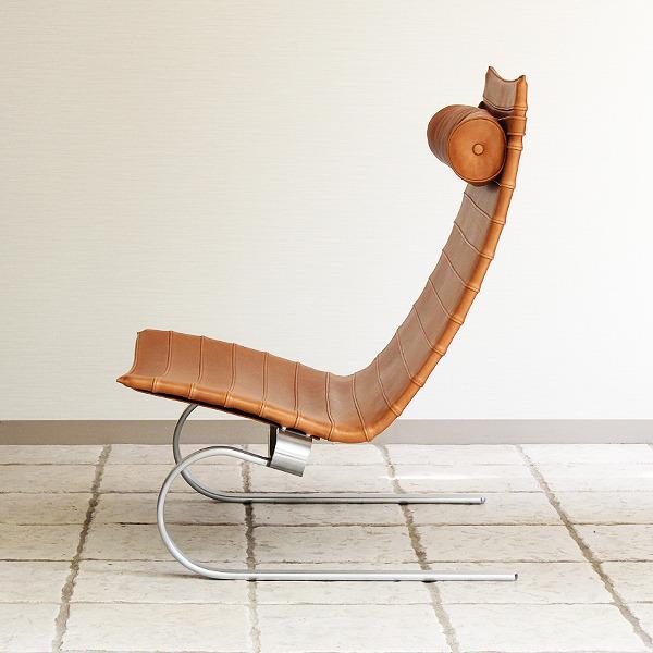 Poul Kjaerholm  Lounge chair. PK20  Fritz Hansen (9).jpg