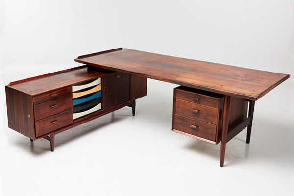 Arne Vodder  Rosewood sideboard and desk, rosewood  Sibast-01.jpg