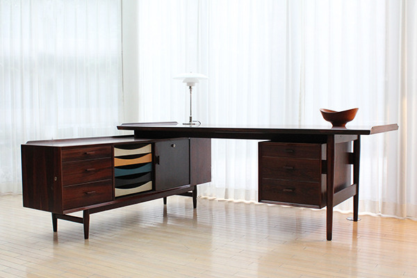 Arne Vodder  Rosewood sideboard and desk, rosewood  Sibast (1).jpg