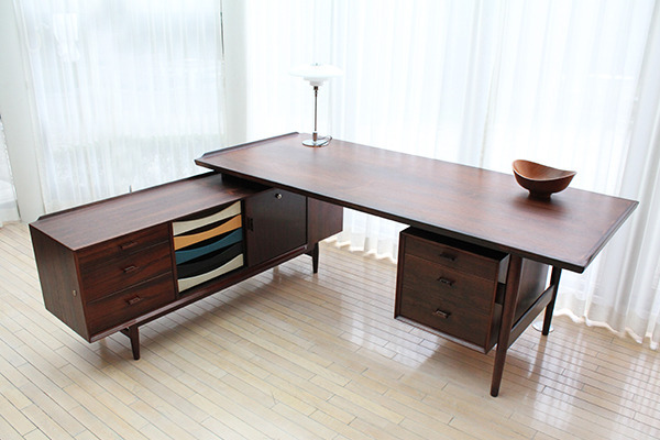 Arne Vodder  Rosewood sideboard and desk, rosewood  Sibast (5).jpg