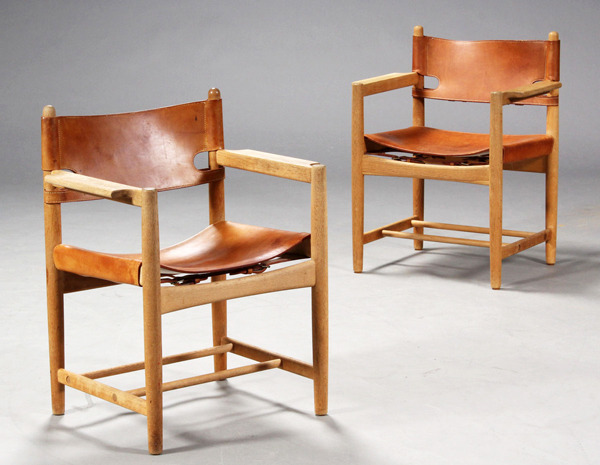 Børge Mogensen  Hunt dining chairs. model 3238 oak  Fredericia (3).jpg