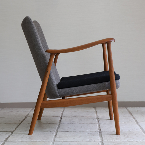 中村 達薫  Easy Chair .Arm high type teak (12).jpg