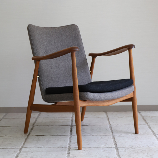 中村 達薫  Easy Chair .Arm high type teak (14).jpg
