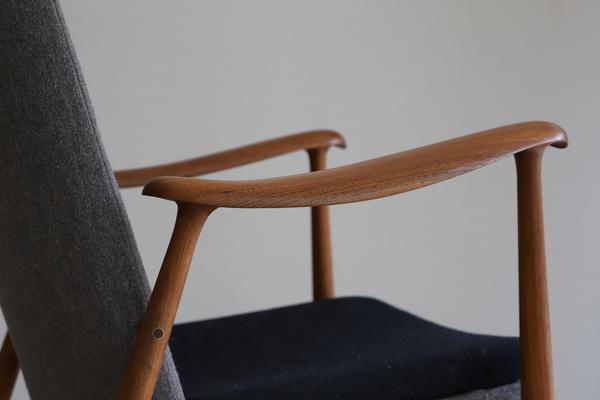 中村 達薫  Easy Chair .Arm high type teak (5).jpg