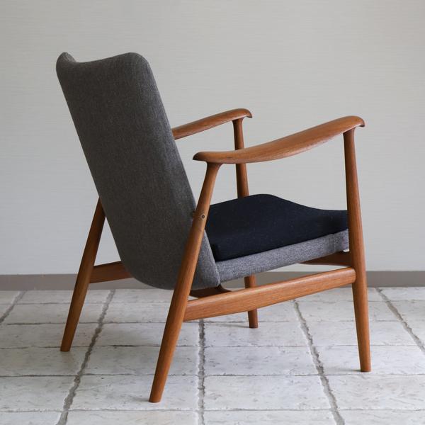 中村 達薫  Easy Chair .Arm high type teak (9).jpg