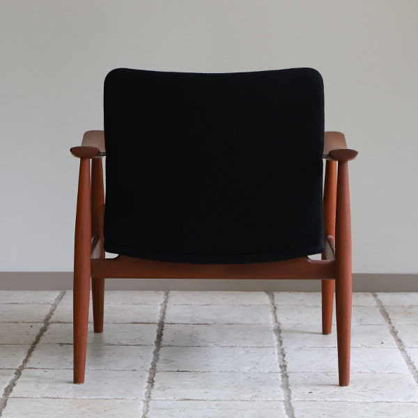 Finn Juhl  Easy chair. FD-138  & ottoman France and son (9).jpg