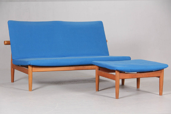 Finn Juhl  Japan sofa .model 137 with footstool  France & Son.jpg