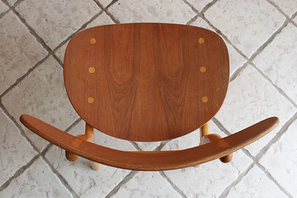Hans J. Wegner  Dining chair. CH-30 Teak & Oak  Carl Hansen & Son(板座) (11).jpg