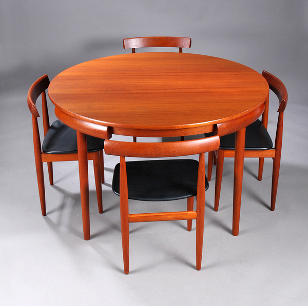 Hans Olsen  Teak. Dining set  Frem Rojle (8).jpg