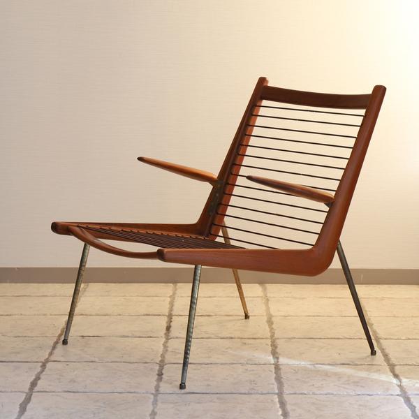 Peter Hvidt & Orla Molgaard-Nielsen   Boomerang chair .FD135  France & Son (3).jpg
