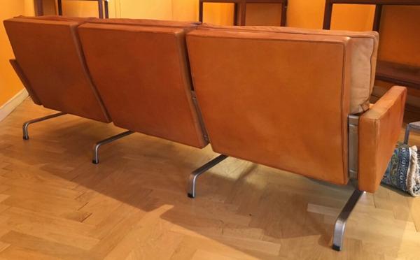 Poul Kjaerholm   Three seater sofa. PK-31  E. Kold Christensen  (2).jpg