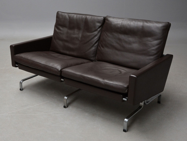 Poul Kjaerholm  2 seater sofa. PK31 Fritz Hansen (3).jpg